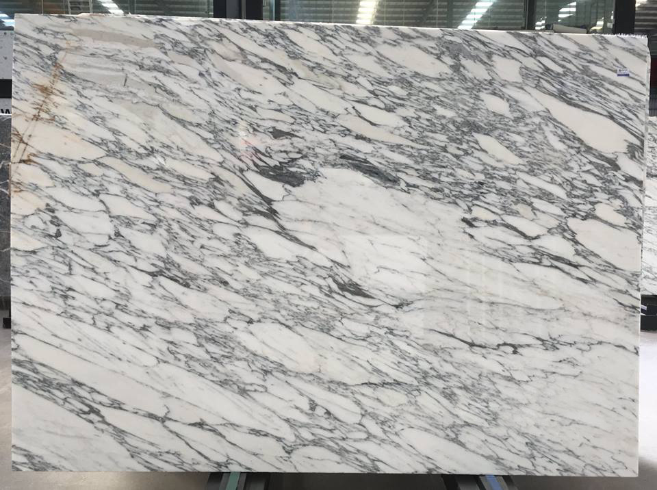Arabescato White Stone Slab White Polished Marble Slabs
