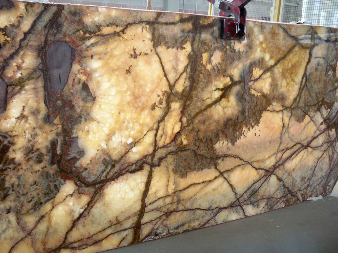 Aragonite Onyx Polished Slabs