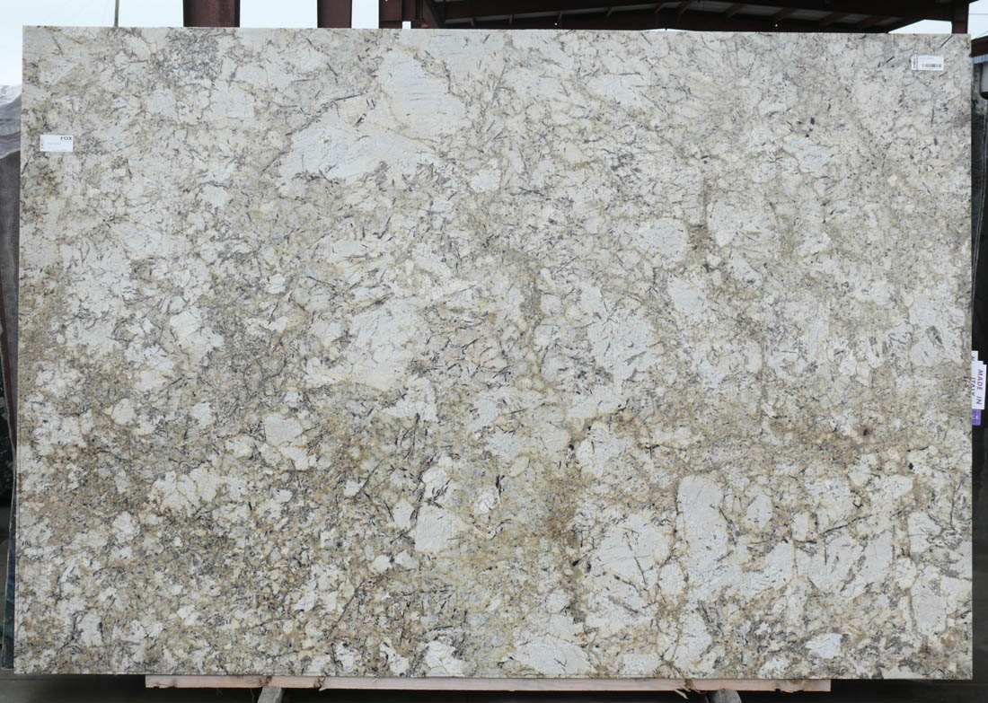 Brazil Arctic Cream Granite Slab White Polished