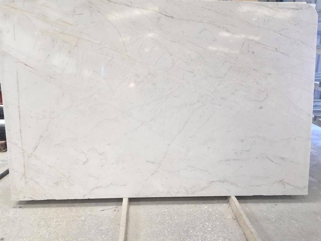 Areti White Marble Slabs White Polished Marble Slabs