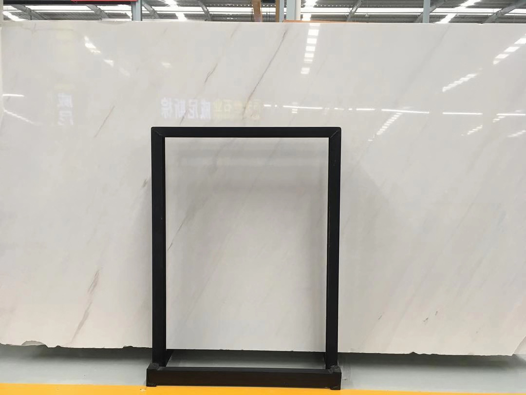 Ariston Kalliston White Polished Marble Slabs