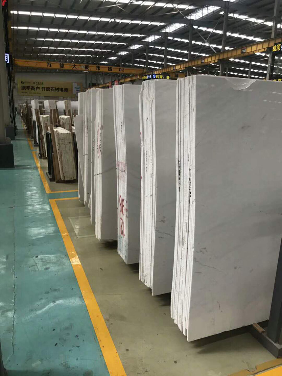 Ariston Marble Polished White Slabs