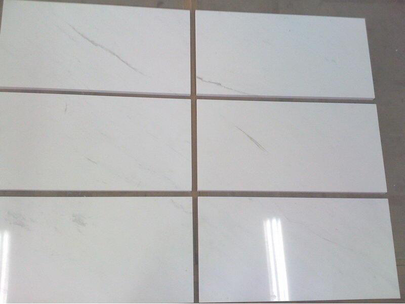 Ariston White Tiles Polished White Marble Tiles for Flooring and Walling