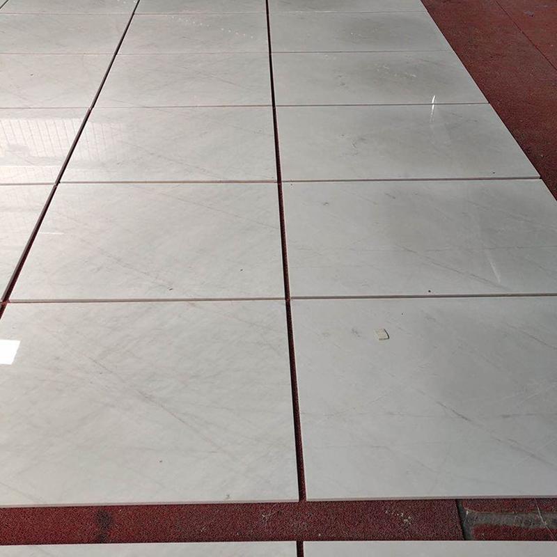 Aristone White Marble Tiles Polished White Flooring Tiles