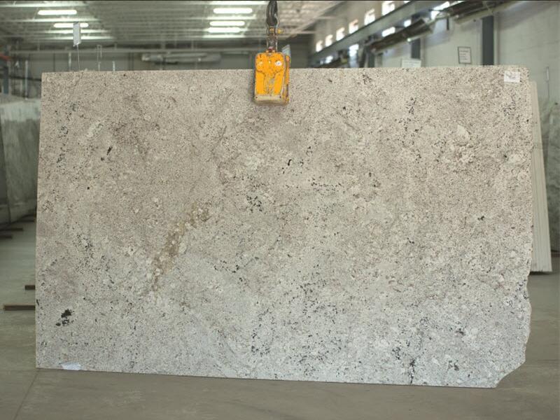 Artic White 2cm Granite Slabs Brazilian White Granite Slabs