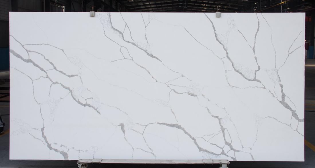 Artificial Stone Calacatta Quartz Slabs