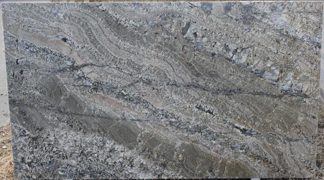 Ash Gold Granite Slabs Polished Granite Stone Slabs