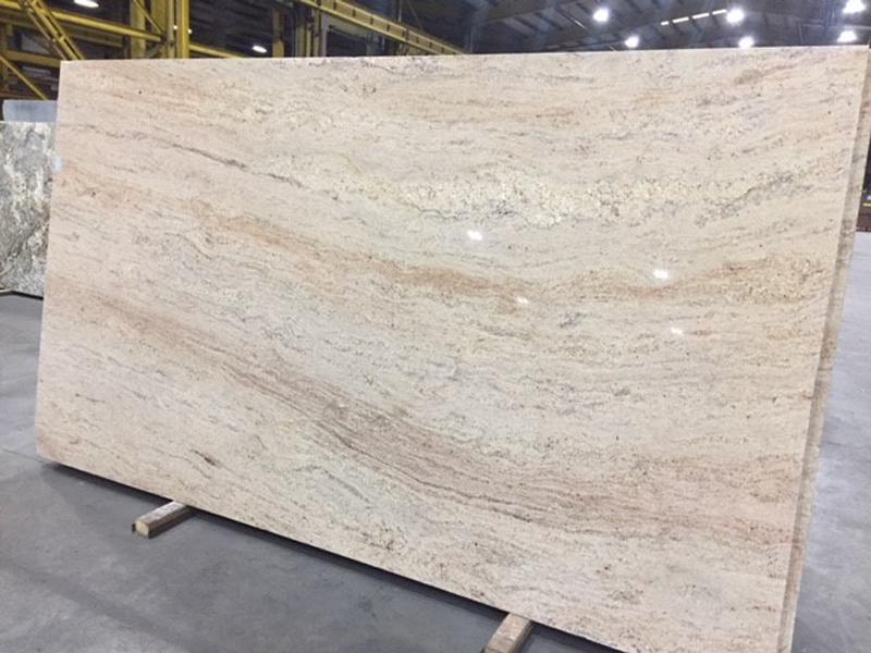 Astoria 3cm Polished Granite Slabs Indian Beige Granite Slabs