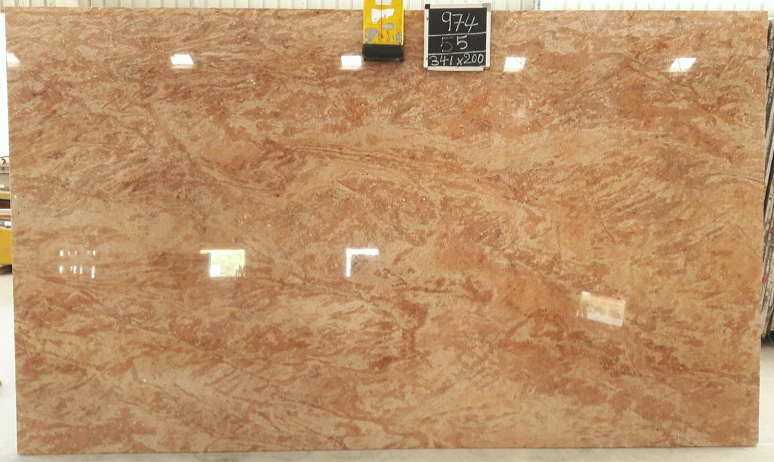 Astoria Pink Granite Slabs Polished Pink Granite Slabs