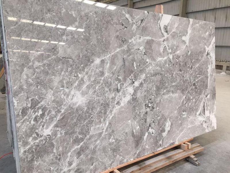 Athena Grey Marble Slab Chinese Grey Polished Marble Slabs