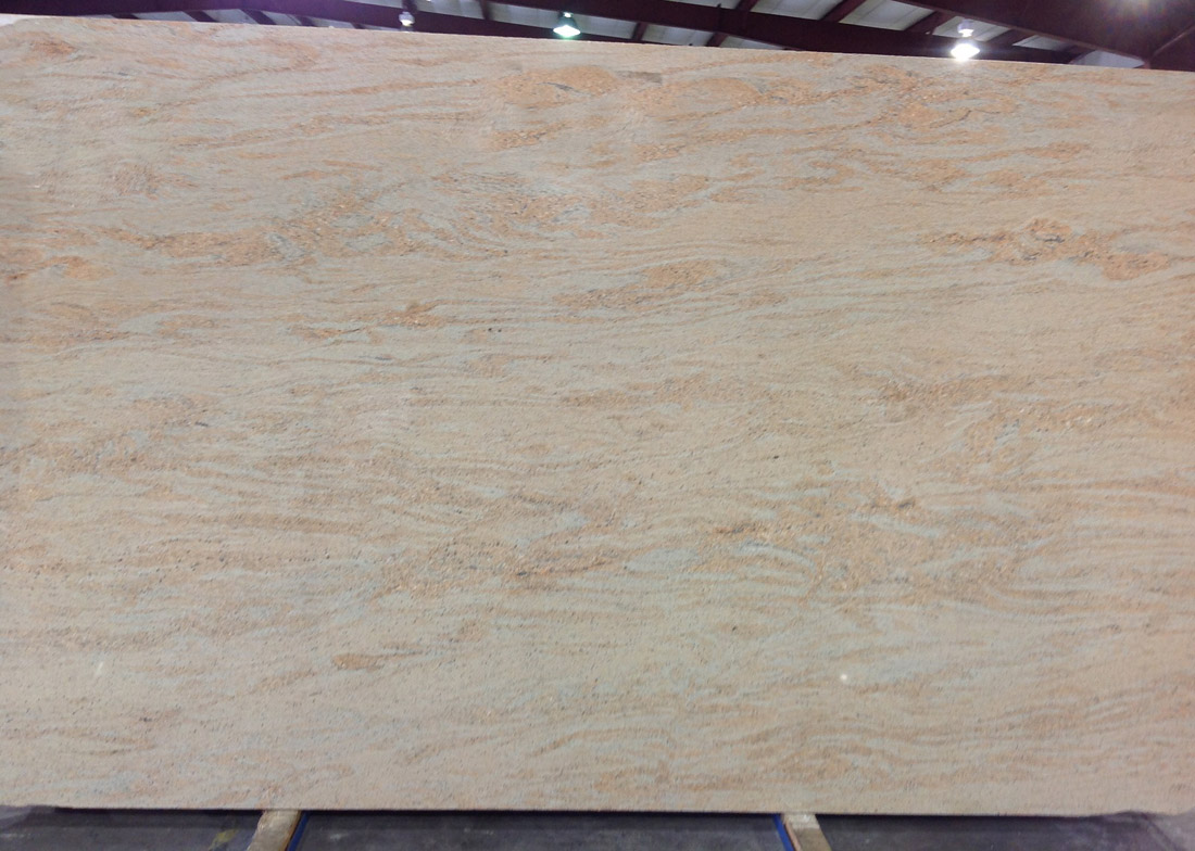 Atlantic Gold Supreme Granite Slabs Polished Indian Granite Slabs