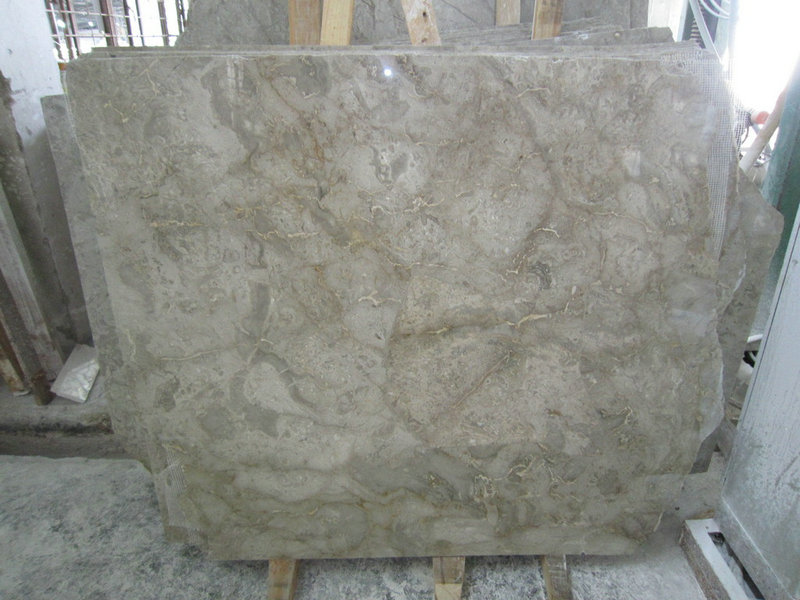 Atlantic Grey Marble Slabs Polished Chinese Marble Slabs
