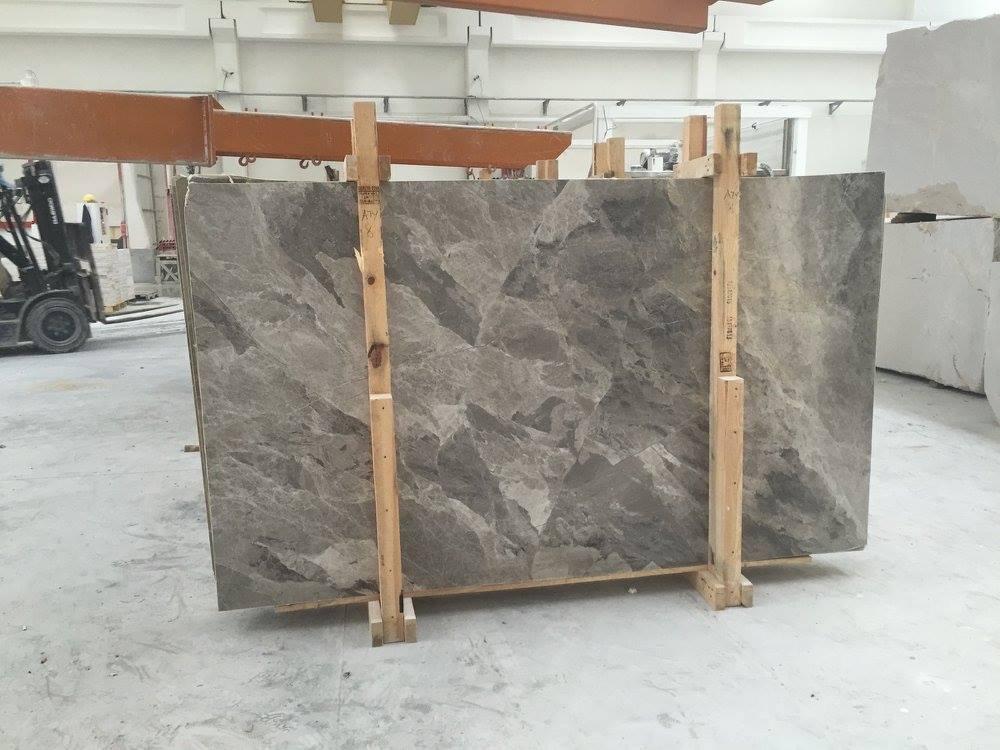 Atlantic Grey Marble Slabs Polished Grey Marble Slabs