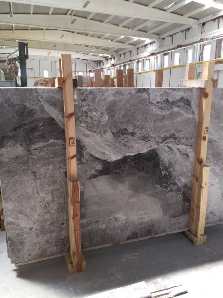 Atlantic Grey Marble Slabs and Tiles