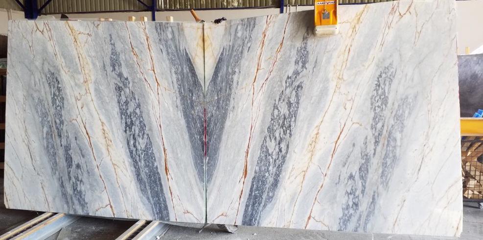 Atlas Blue Marble Slabs Turkish Marble Slabs
