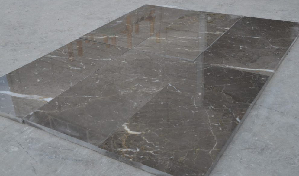 Atlas Grey Marble Tiles Turkish Grey Marble Polished Flooring Tiles