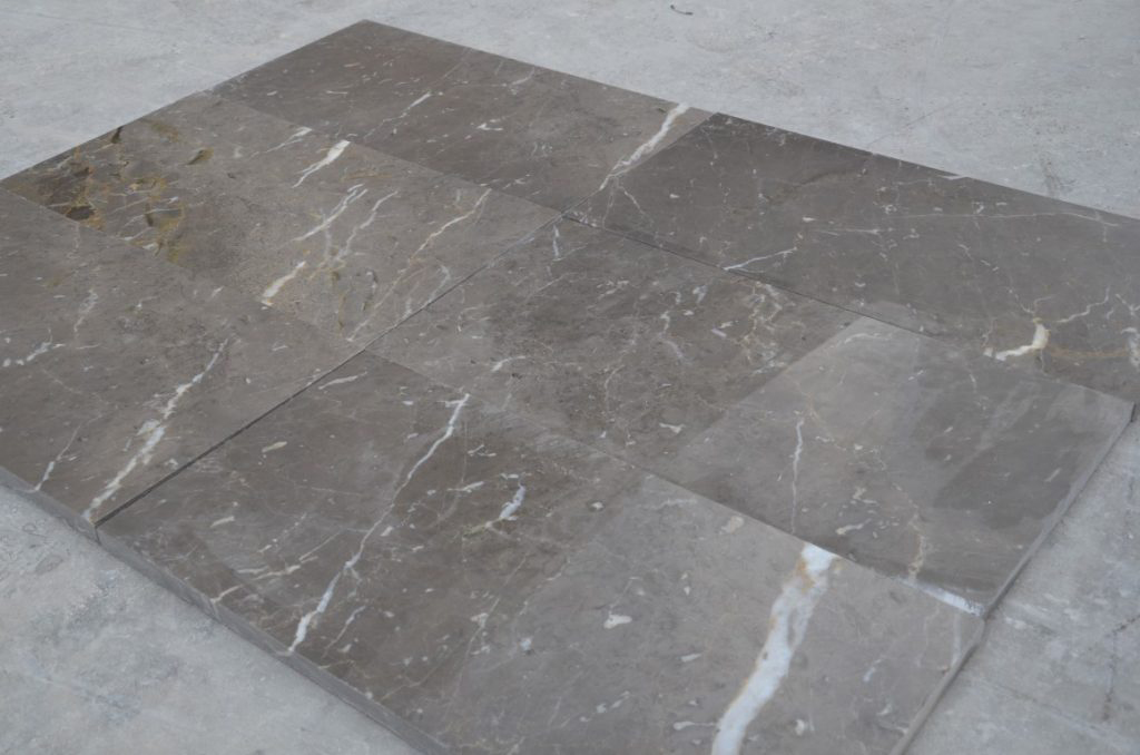Atlas Grey Polished Marble Tiles Turkish Grey Marble Stone Tiles