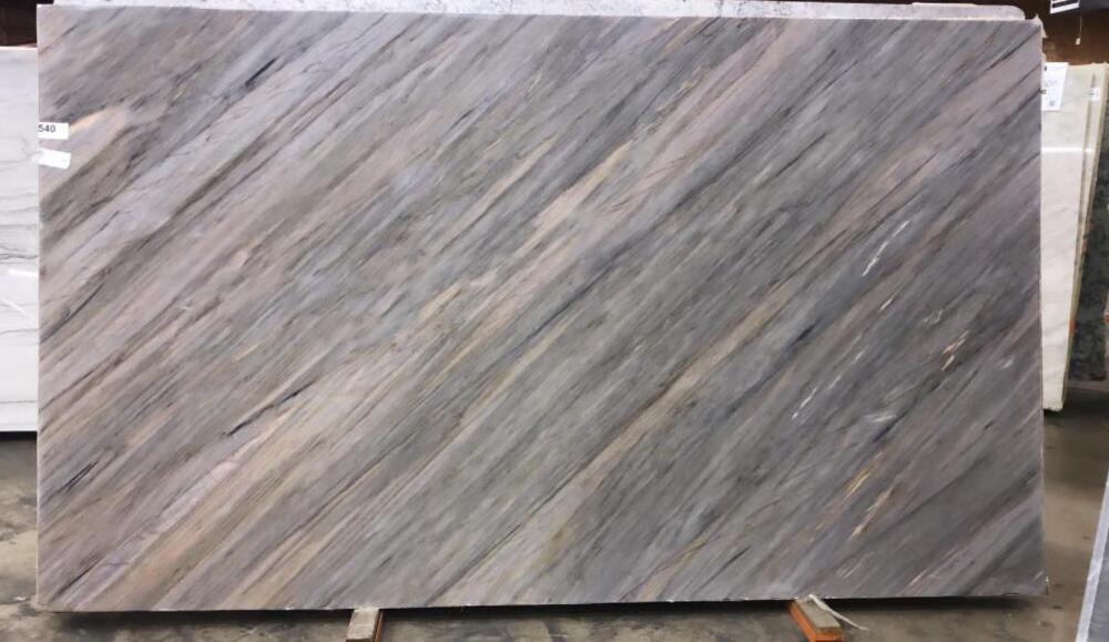 Aurora Blue Quartzite Slabs Brazil Polished Quartzite Stone Slabs