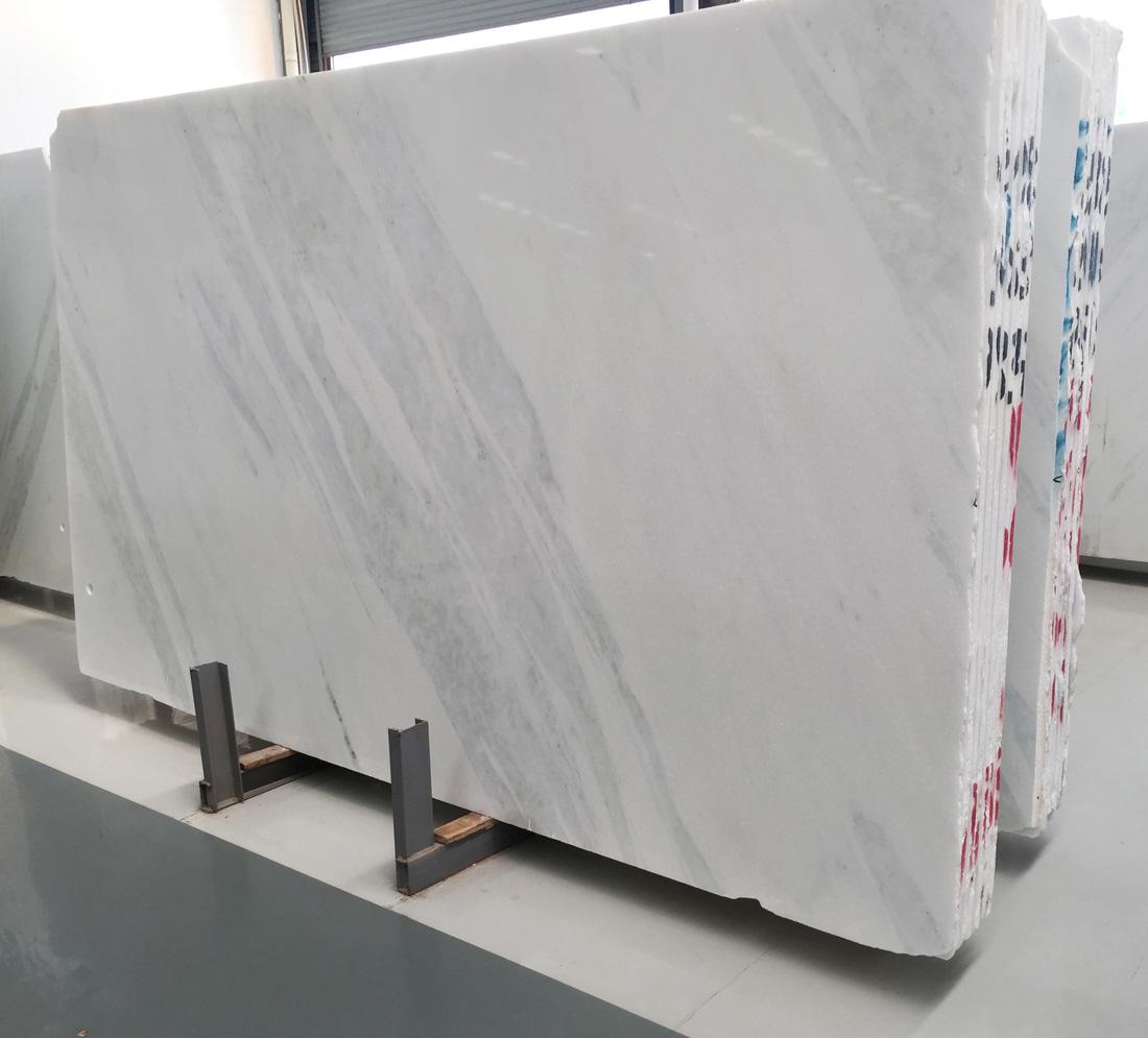 Aurora White Marble Polished Marble Stone Slabs