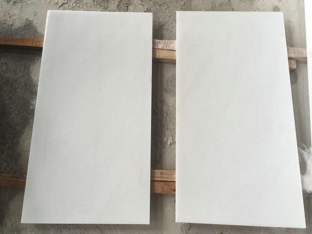 Aurora White Marble Polished White Marble Flooring Tiles