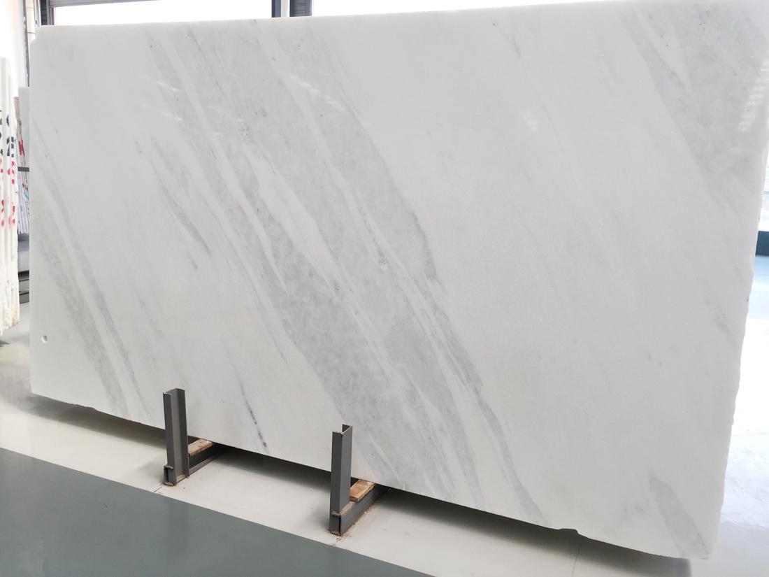 Aurora White Marble Slabs Polished White Stone Slabs