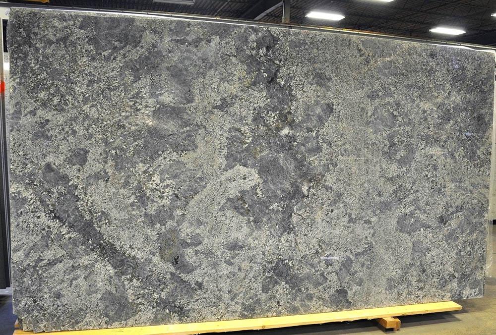 Azul Aran 3cm Polished Granite Slabs Grey Granite Stone Slabs