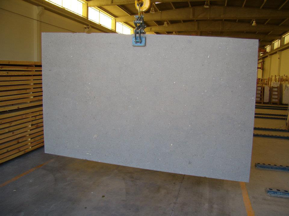 Azul Atlantico Grey Limestone Slabs
