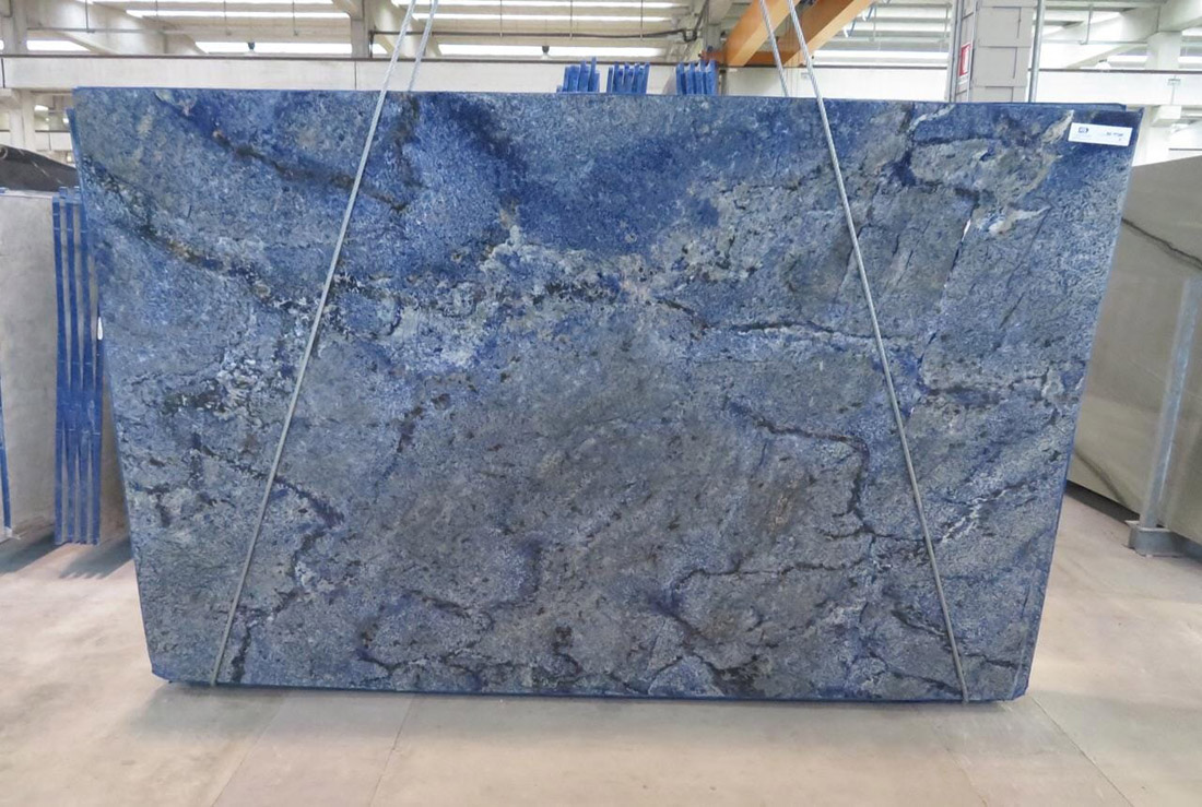 Azul Bahia Granite Slab Blue Granite Slabs