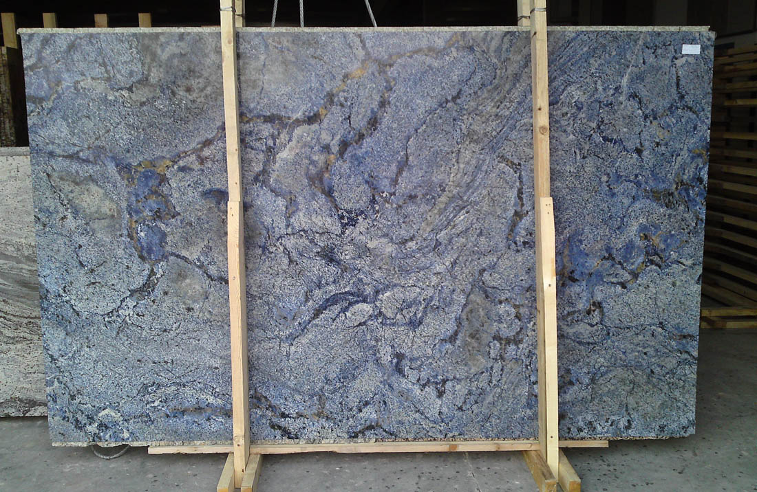 Azul Bahia Granite Slabs Blue Granite Slabs with Top Quality