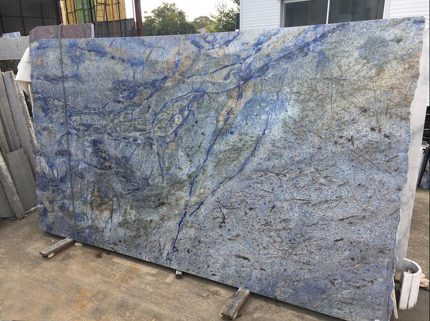 Azul Bahia Granite Slabs Brazil Blue Granite Stone Slabs