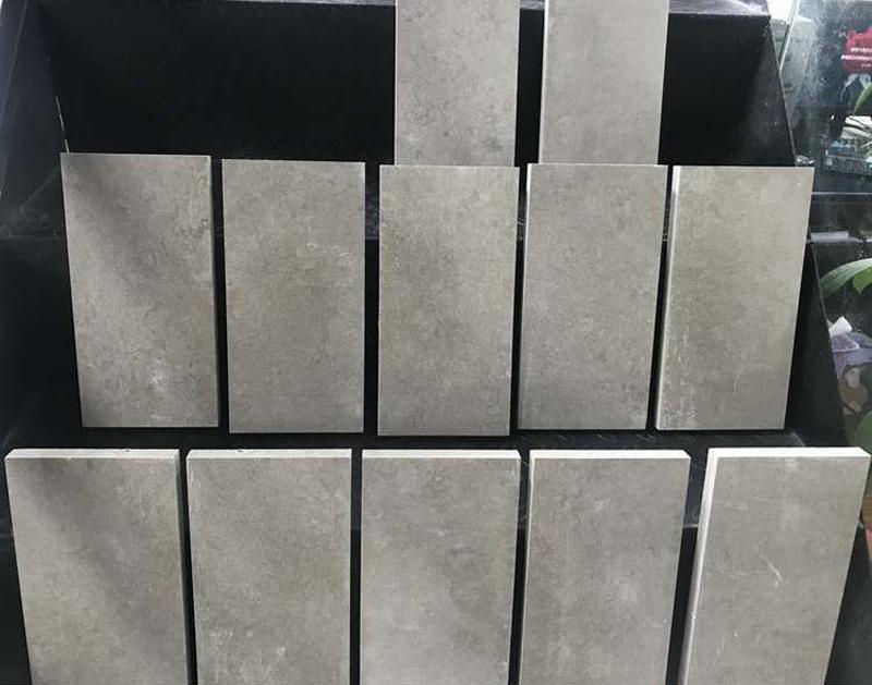 Azul Bateig Limestone Tiles Spanish Grey Limestone Flooring Tiles