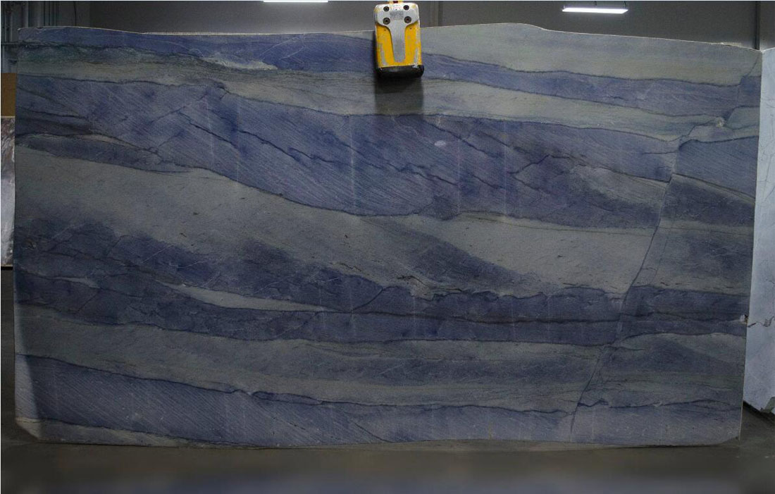 Azul Boquira Blue Quartzite Slabs Polished Quartzite Slabs
