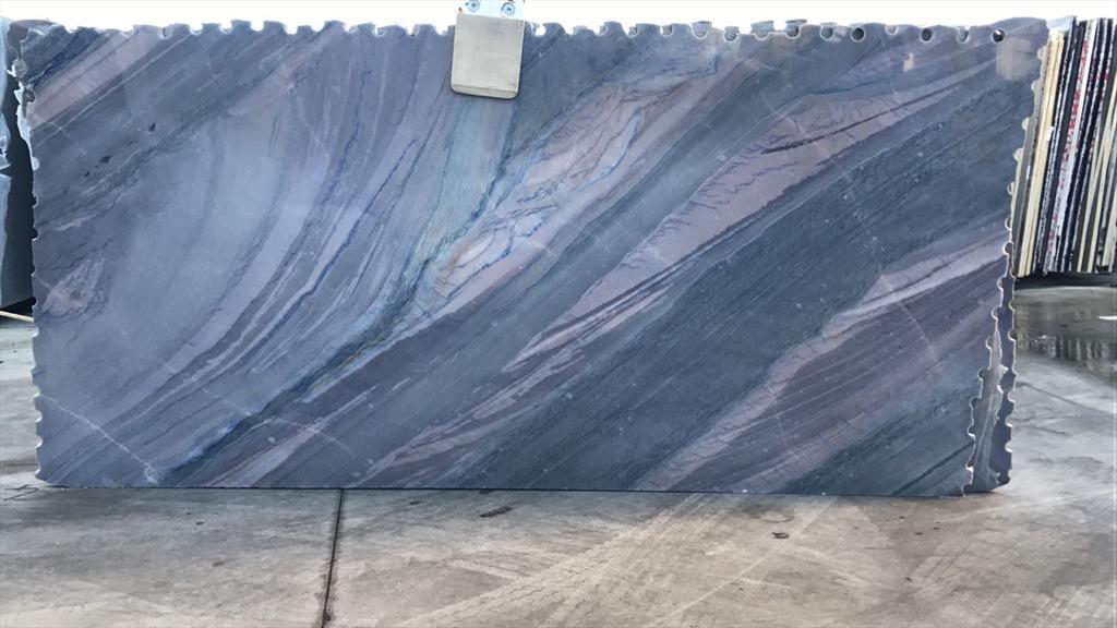 Azul Imperial Blue Quartzite Slabs