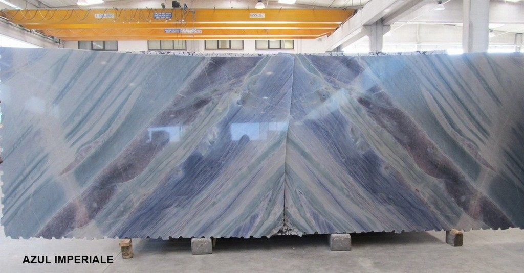 Azul Imperiale Natural Blue Quartzite Slabs