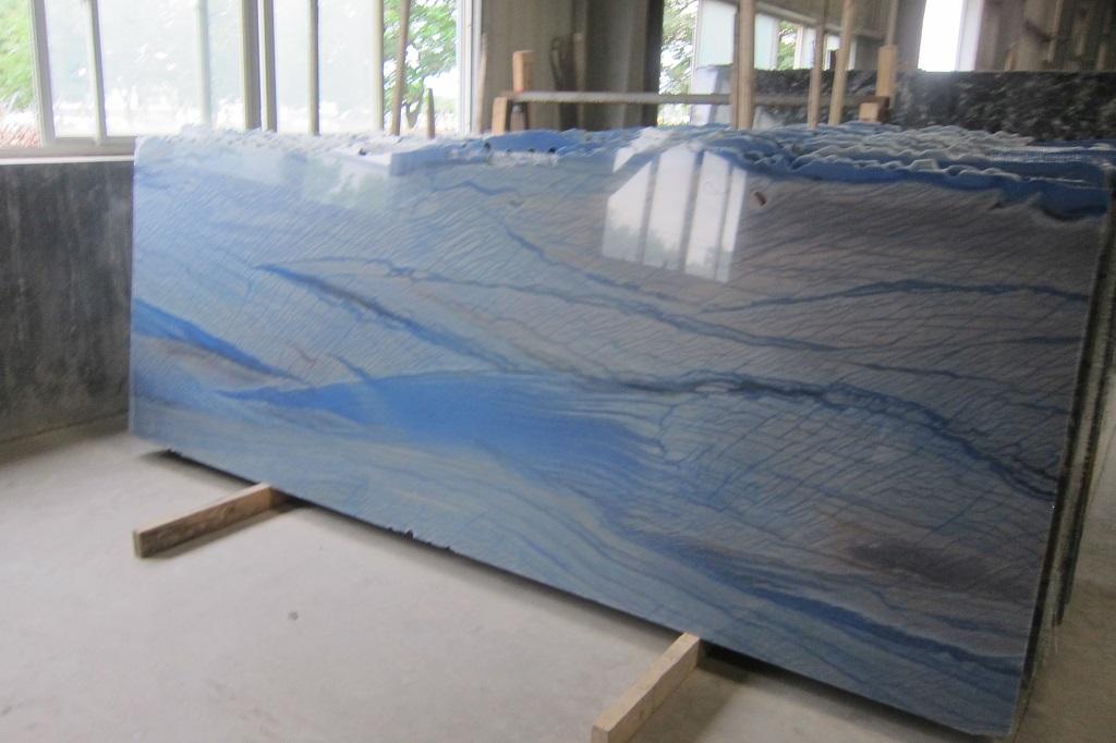 Azul Macaubas Natural Blue Quartzite Slabs