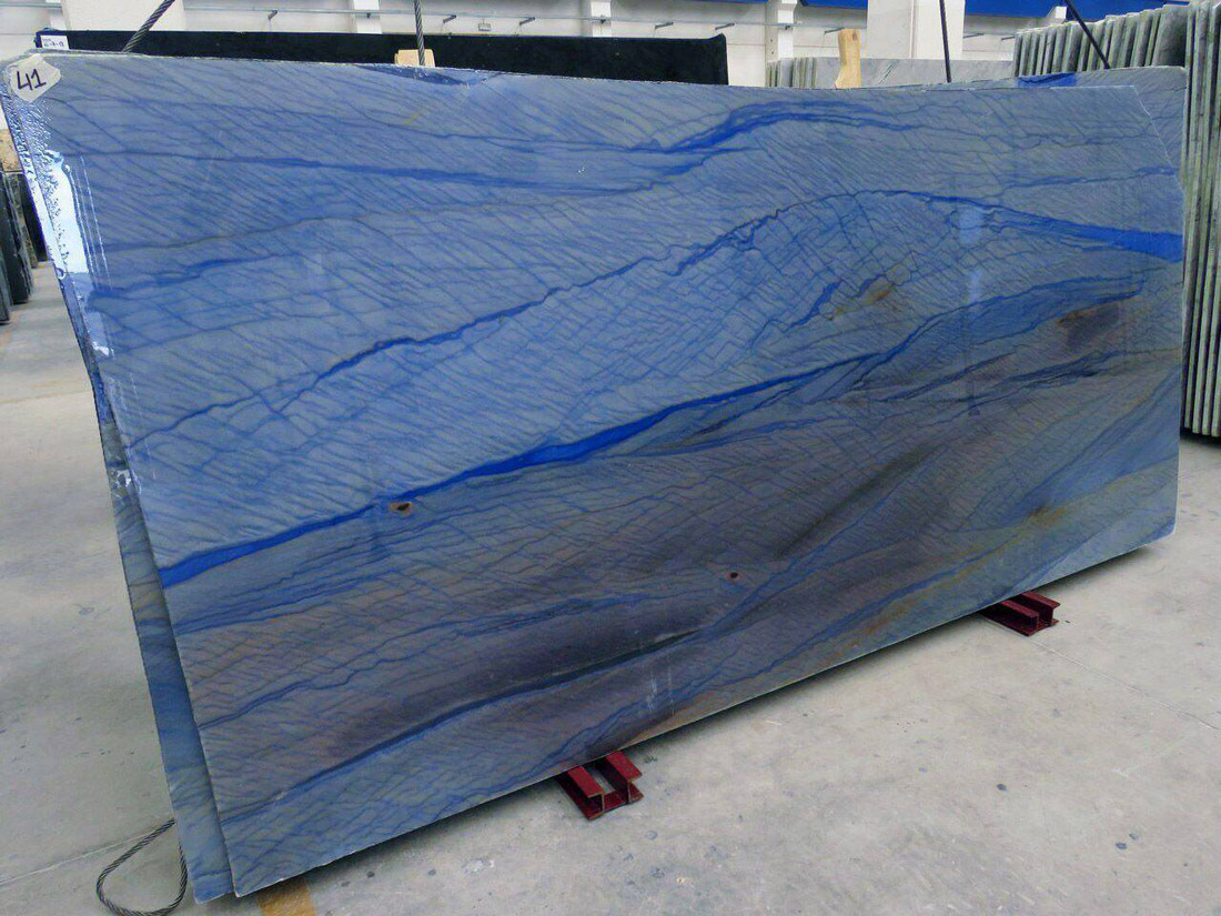 Azul Macaubas Quartzite Slabs Polished Quartzite Slabs