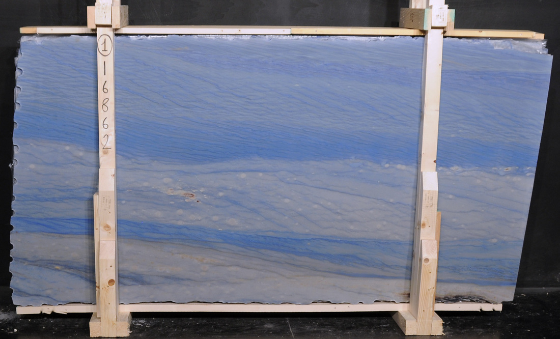 Azul Macaubas Quartzite Stone Slabs Polished Blue Natural Quartzite Slabs