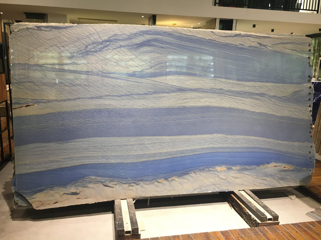 Azul Macobus Quartzite Polished Blue Quartzite Slabs