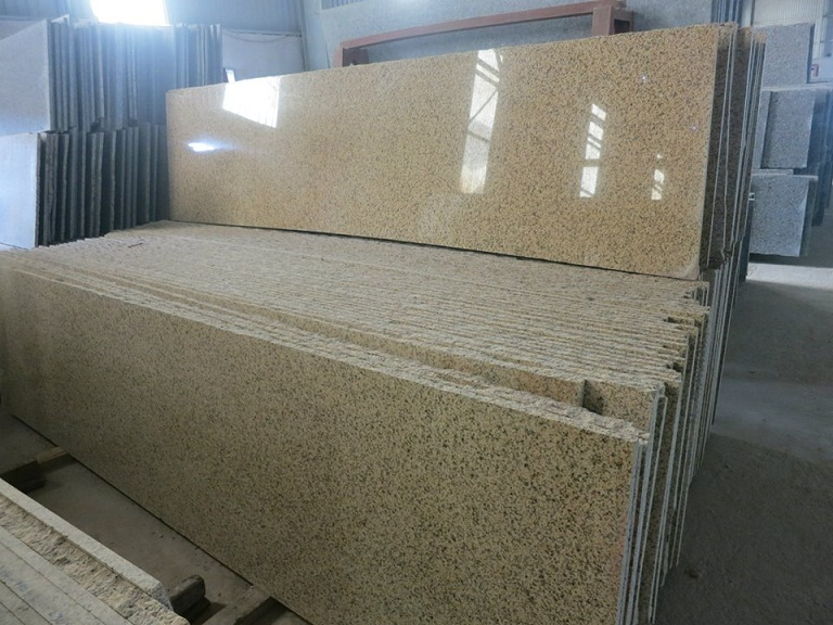 BD Yellow Granite Slabs
