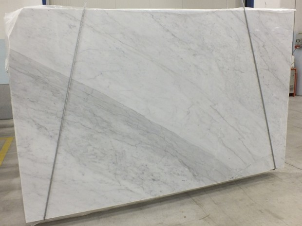 BIANCO CARRARA Marble in Blocks Slabs Tiles