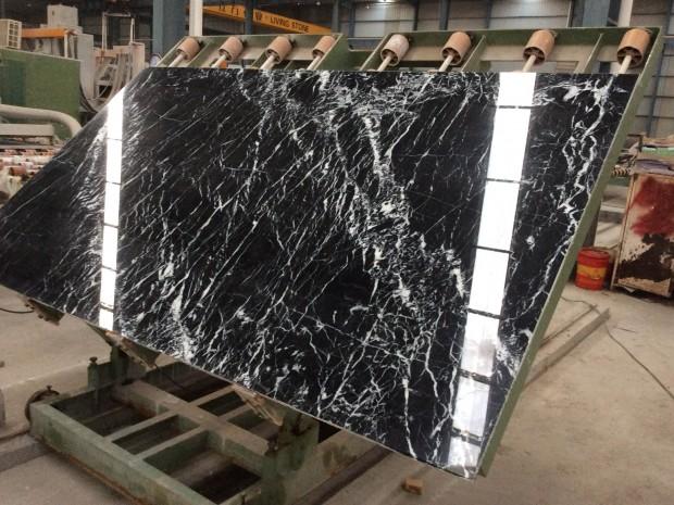 BLACK FLOWER BLACK MARQUINA NERO MARQUINA MARBLE SLAB Marble in Blocks Slabs Tiles