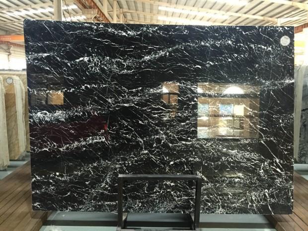 BLACK MARQUINA NERO MARQUINA MARBLE SLAB Marble in Blocks Slabs Tiles
