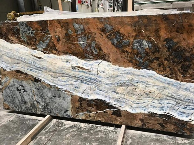 BLUE JEANS MARBLE Marble in Blocks Slabs Tiles