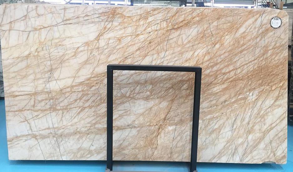 Babylon Gold Marble Slabs Beige Marble Polished Slabs