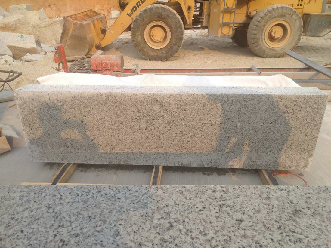 Bala White Granite Slabs Polished Granite Stone Half Slabs