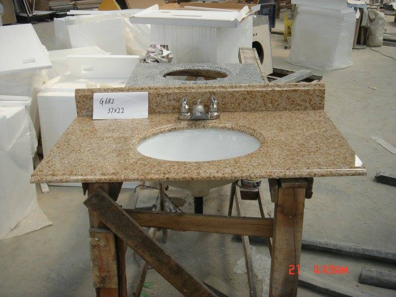 Baltic Brown Granite Bathroom Vanity Tops