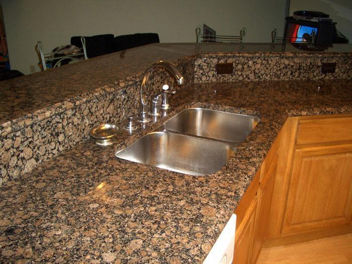 Baltic Brown Granite Kitchen Countertop