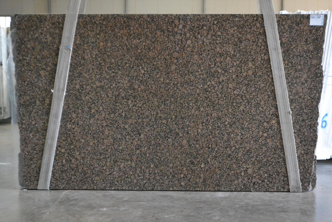 Baltic Brown Granite Stone Slabs Polished Brown Granite Slabs