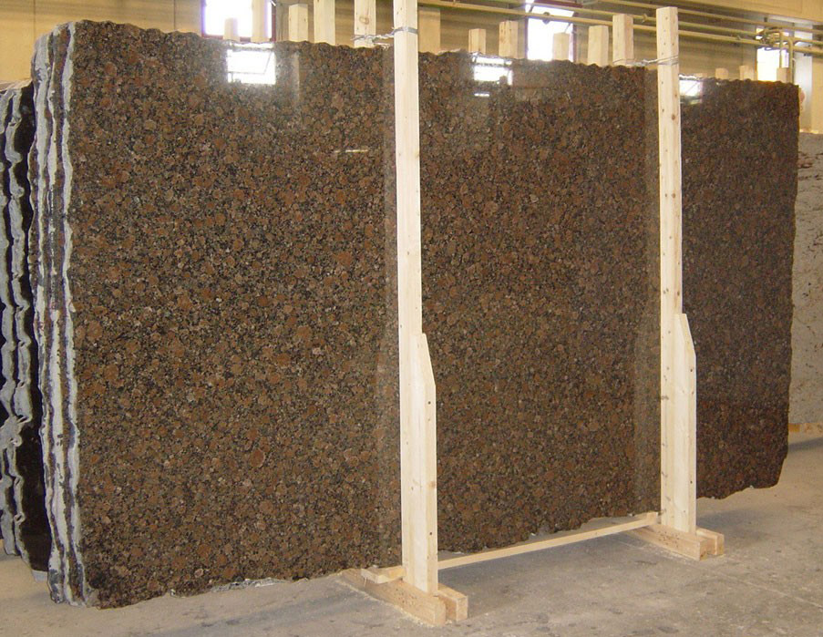 Baltik Brown Granite Slabs Polished Brown Granite Slabs