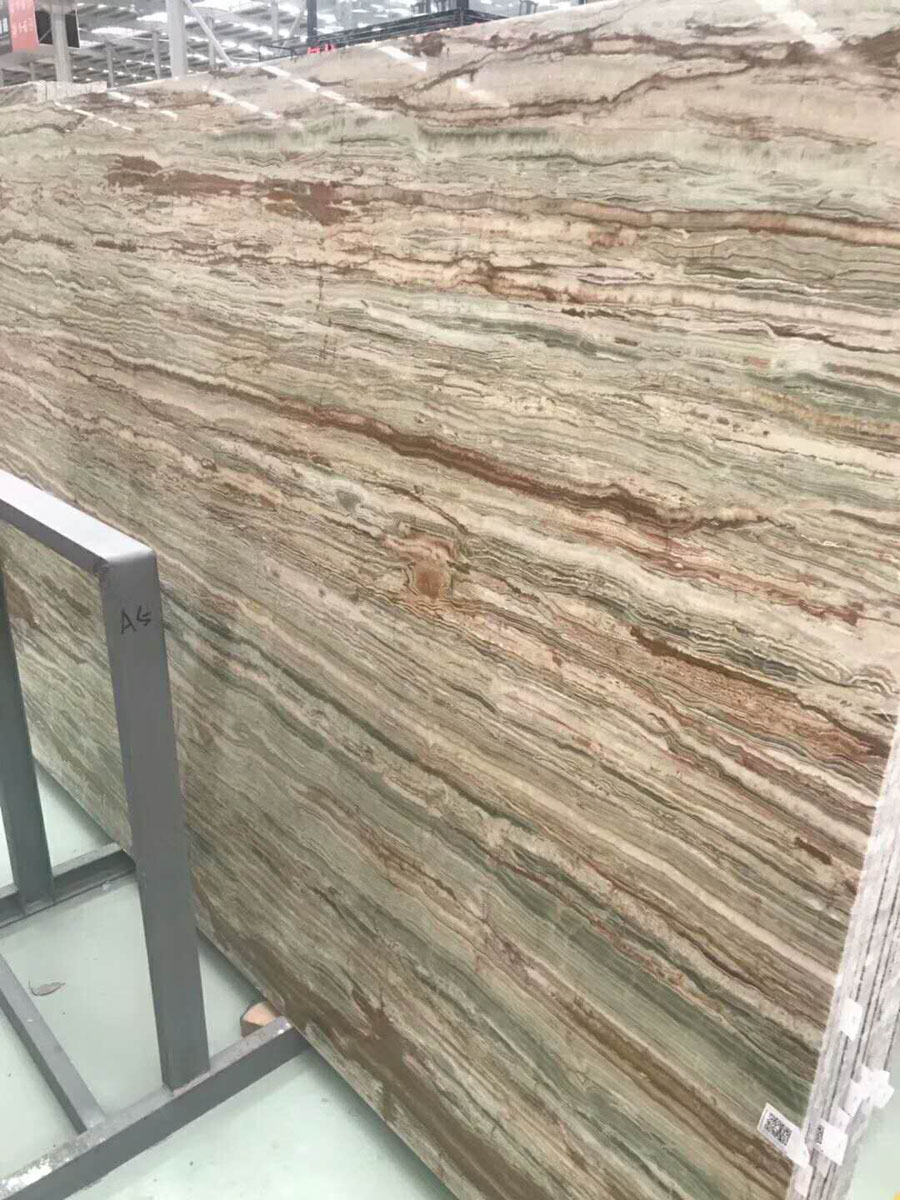 Bamboo Jade Natural Marble Slabs Polished Marble Slabs
